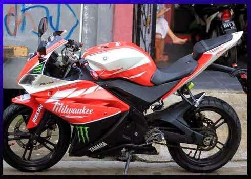 Modifikasi Yamaha Vixion Full Fairing Yzf R125