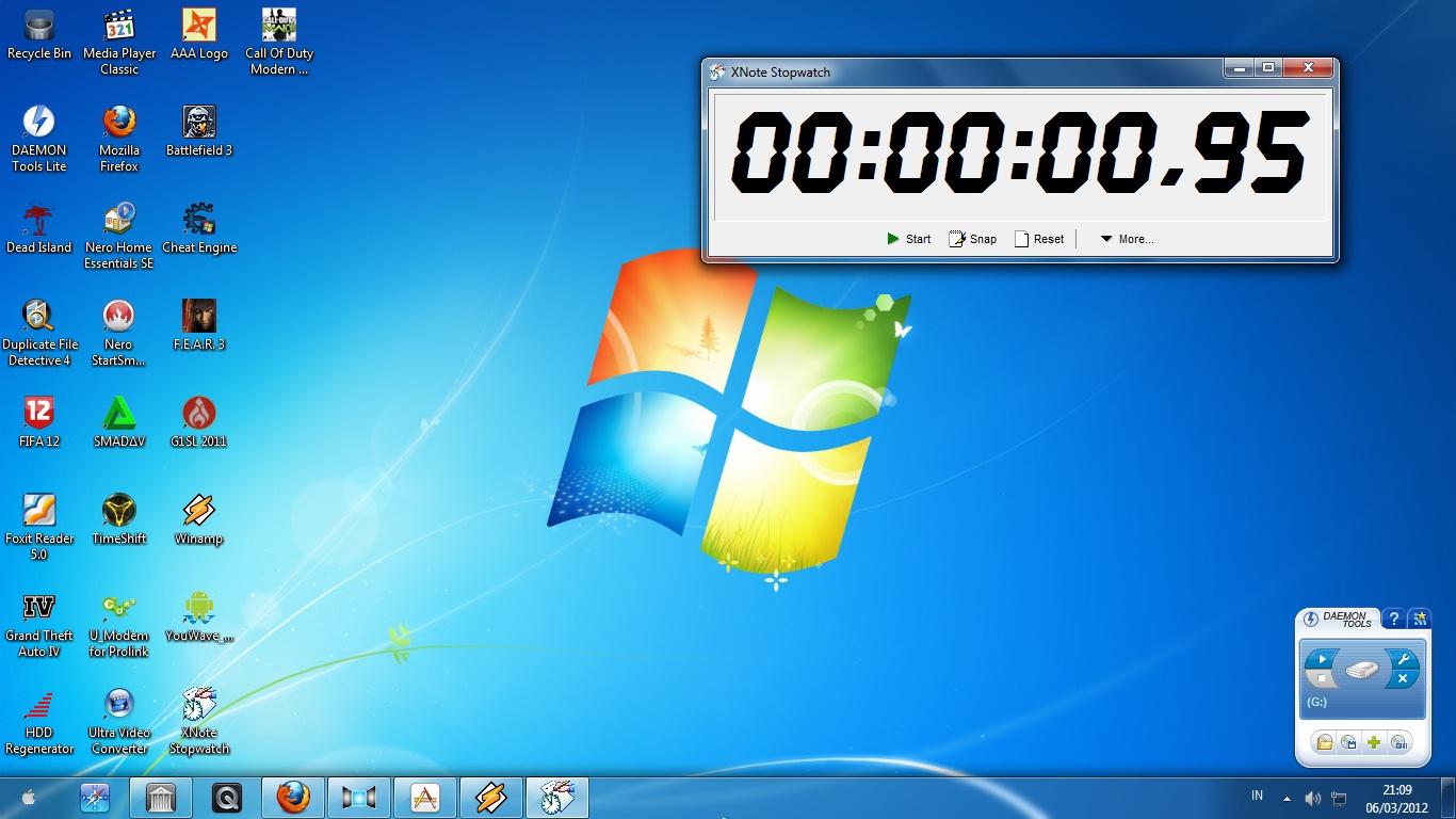 XNOTE STOPWATCH - PENGUKUR WAKTU DI PC