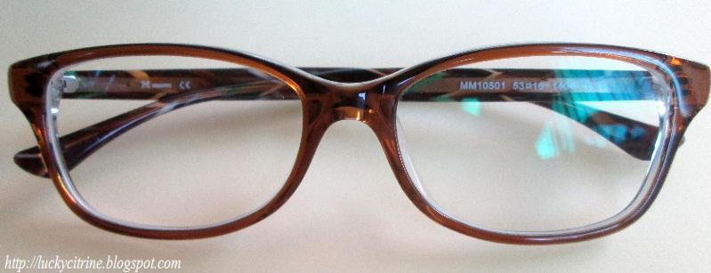 Eyeglasses Frames Eo : Lucky Citrine: My New Glasses: M.Missoni from EO