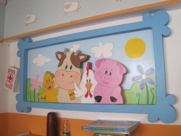 adornos de goma eva para decorar un dormitorio On cuartos decorados goma eva