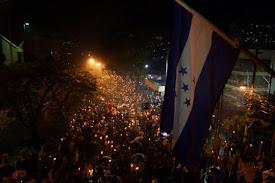 HONDURAS / Jóvenes lideran inédito movimiento contra corrupción