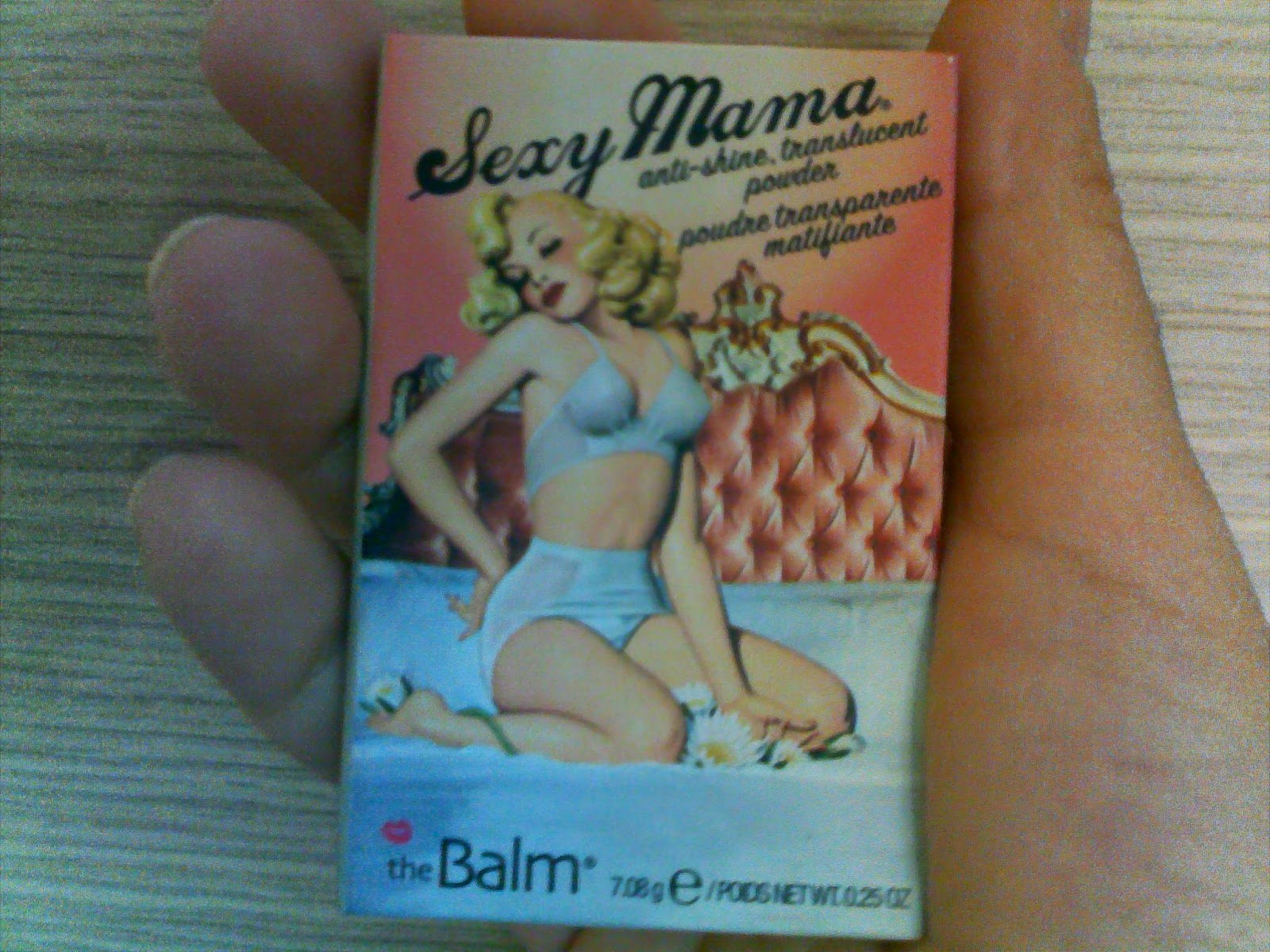 TheBalm Sexy Mama powder, the cover