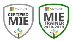 Microsoft Innovative Educator and Trainer
