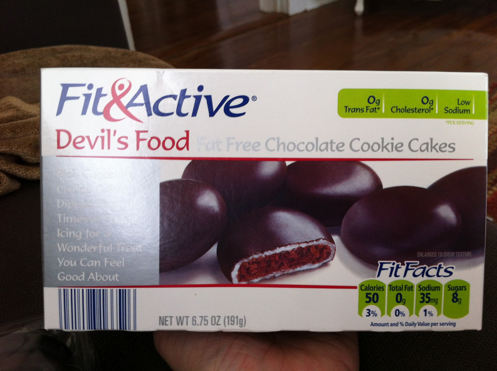 Whats Good At Aldi Fa Devils Food Fat Free Chocolate Cookie Cakes
