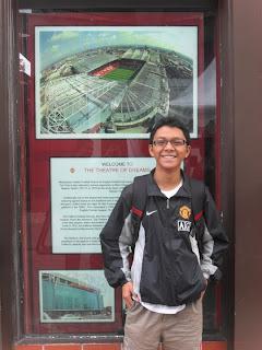 Aku di Manchester United