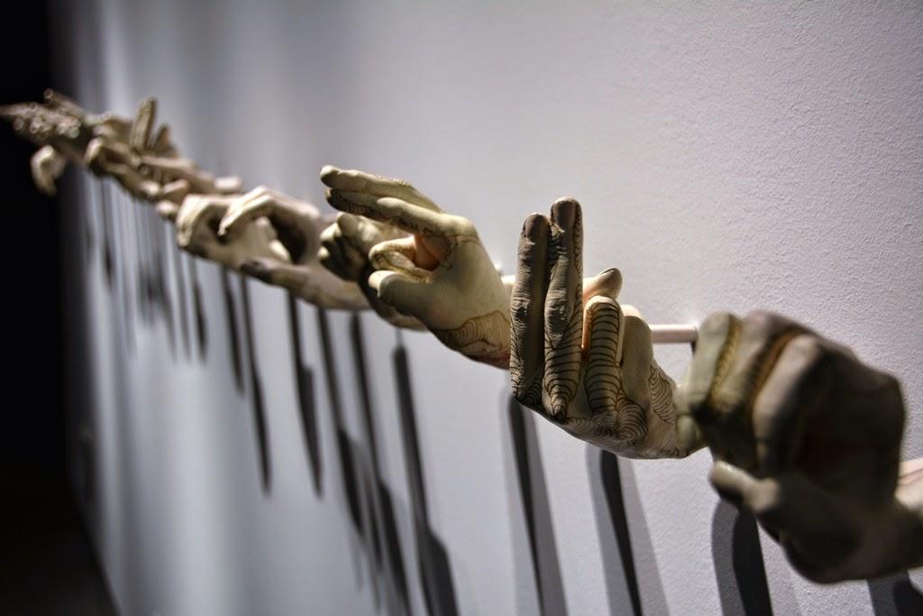 Cibeles Palace Madrid hands