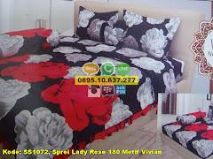 Harga Sprei Lady Rose 180 Motif Vivian Jual