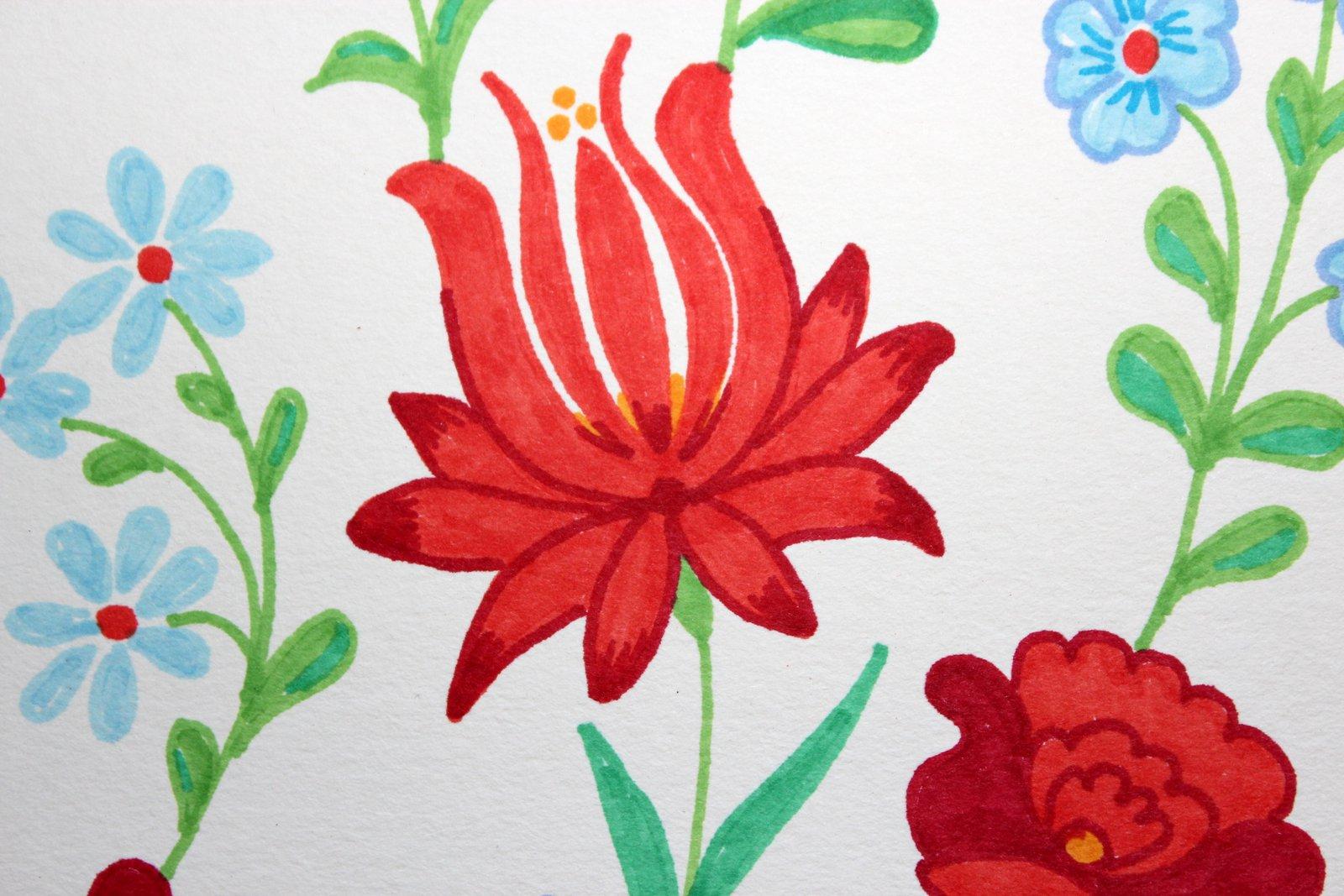 Rita Barton: Hungarian Flowers