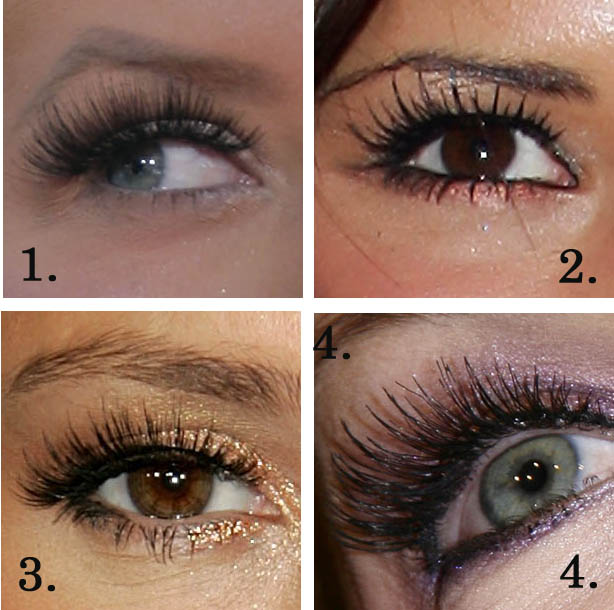 Best False Eyelashes - Celebrity False Eyelashes