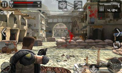 ... Commando é um shooter impressionante para dispositivos móveis