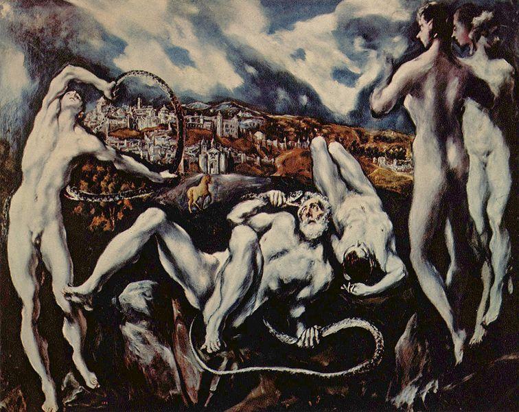 Laocoon, El Greco, 1610-1614