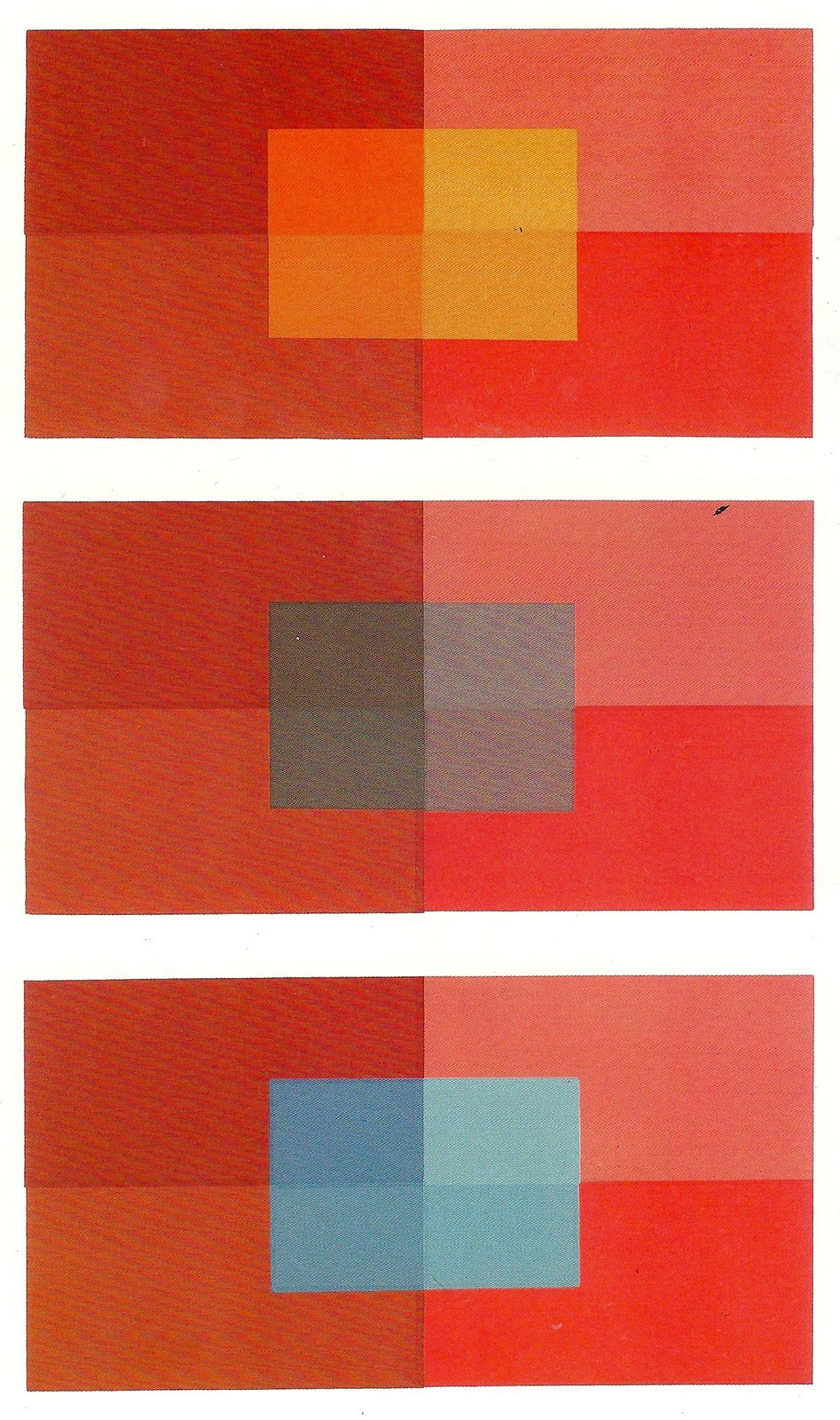 Symmetry pattern color 2012 josef albers interaction for Josef albers color theory