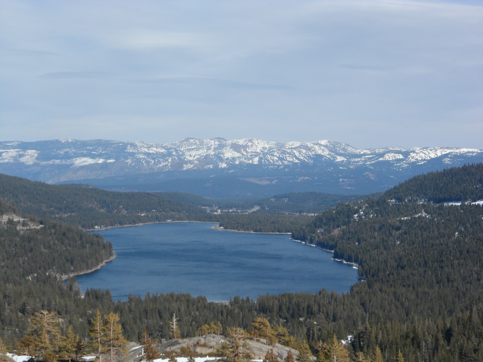Donner lake an american housewife for Donner lake fishing report