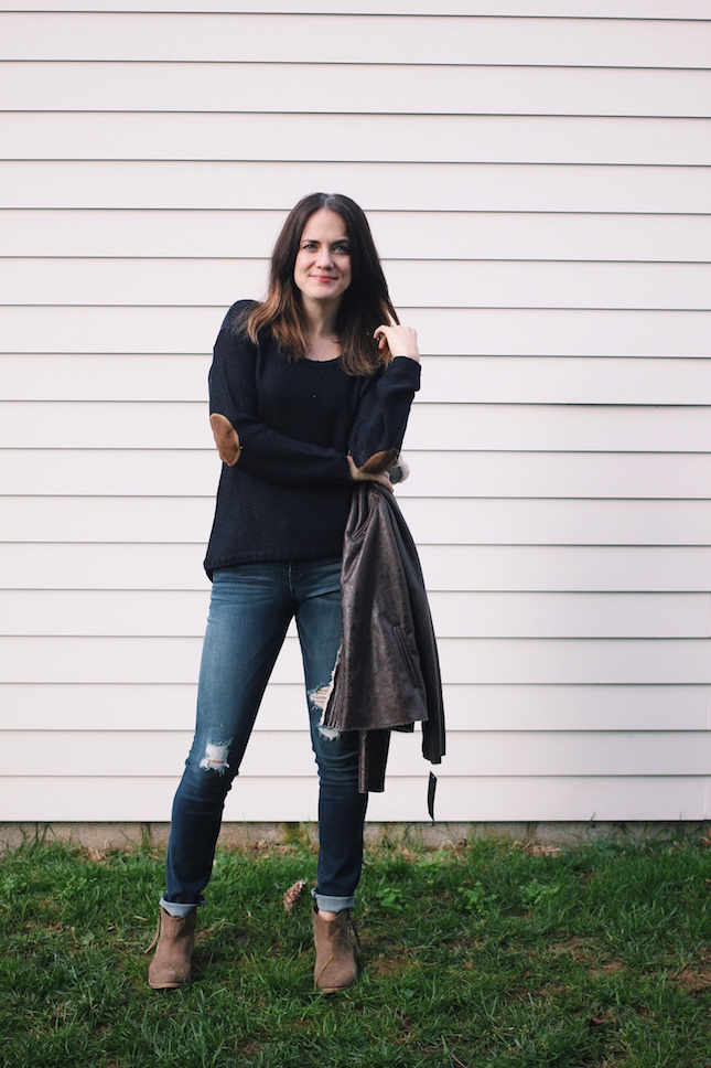 Maureen Twitsted Seam Elbow Patch Sweater via @stitchfix http://www.bit.ly/yourstitchfix