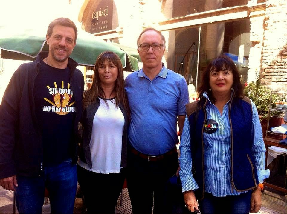 Patricia Spena, Guillermo Nielsen, Diego Kravetz y Diana Saiegh