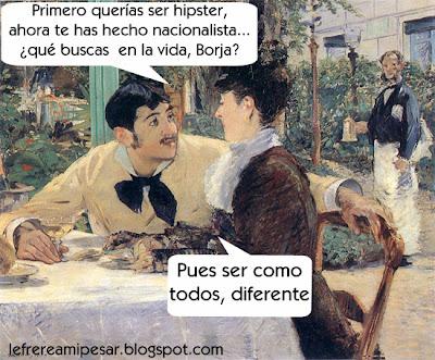 Manet, nacionalismo, hipster