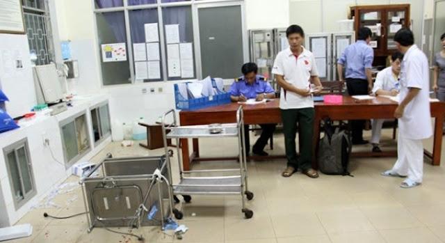 Xác định được các đối tượng gây án ở Bệnh viện Quảng Ngãi