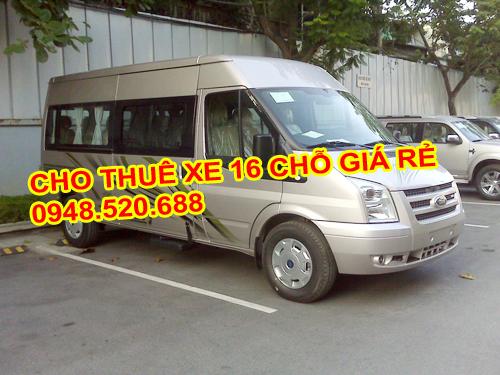 thuê xe 16 chỗ giá rẻ