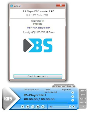 BS Player Pro 2.62 Build 1068 Final