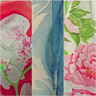 Texturas de seda