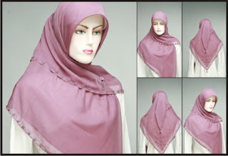 Trend Jilbab 2013 - Kreasi jilbab muslimah