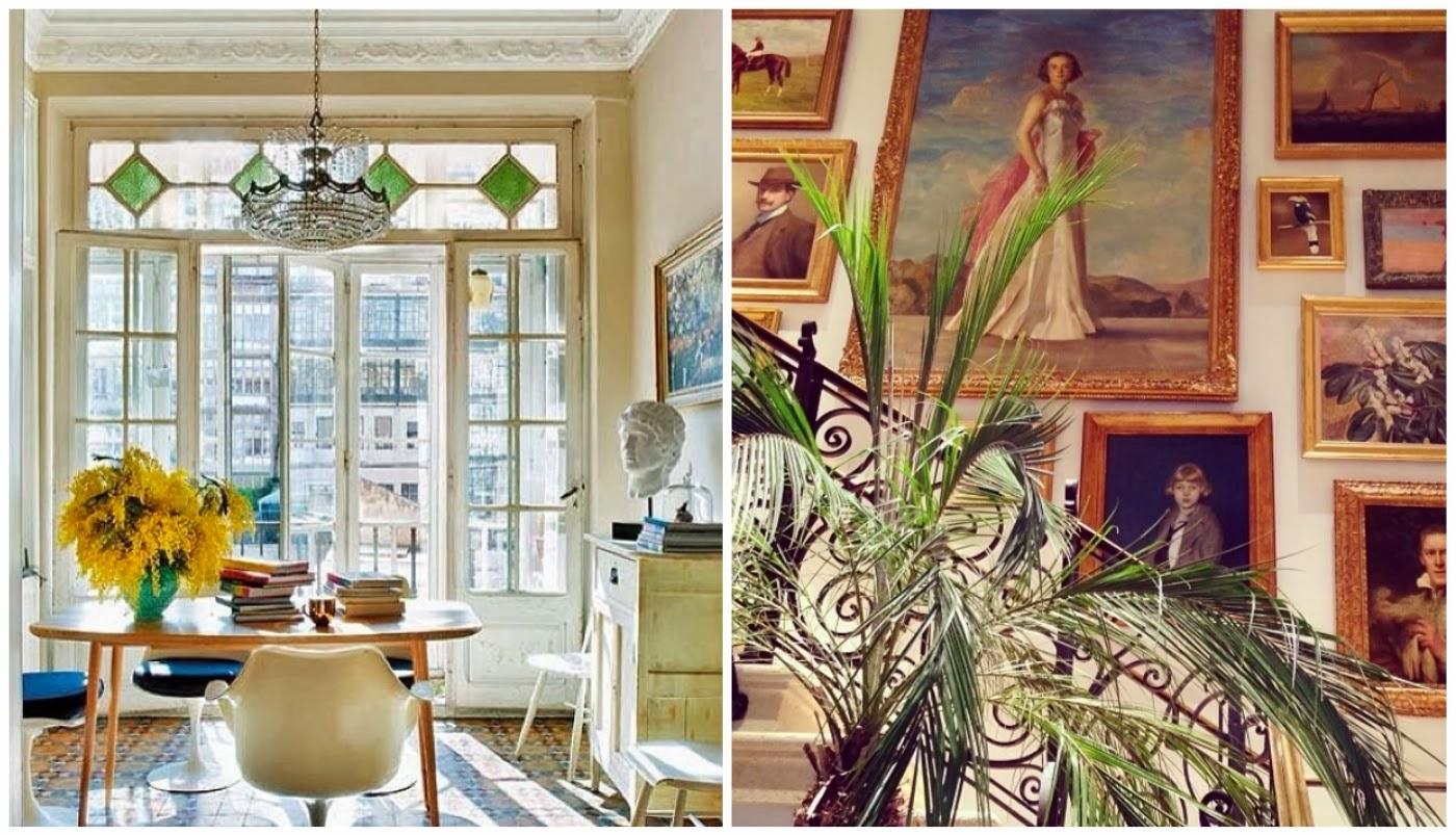 insta design cadeira Tulipa @casadevalentina e parede com quadros @sigbergamin