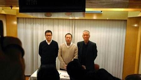 Ba nhà lãnh đạo biểu tình ở Hồng Kông tuyên bố đầu hàng