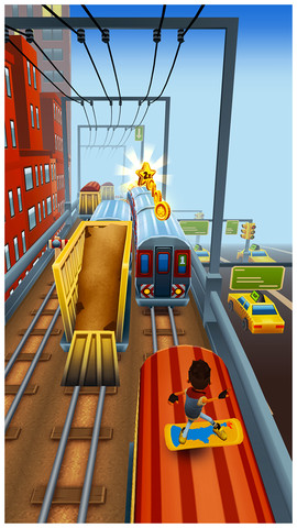 Subway Surfers, iPhone Application Store, Games -> Action, Free
