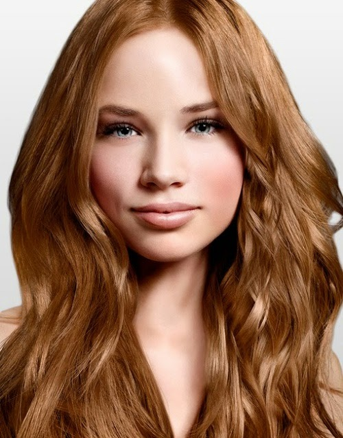 Auburn Hair Color: August 2012