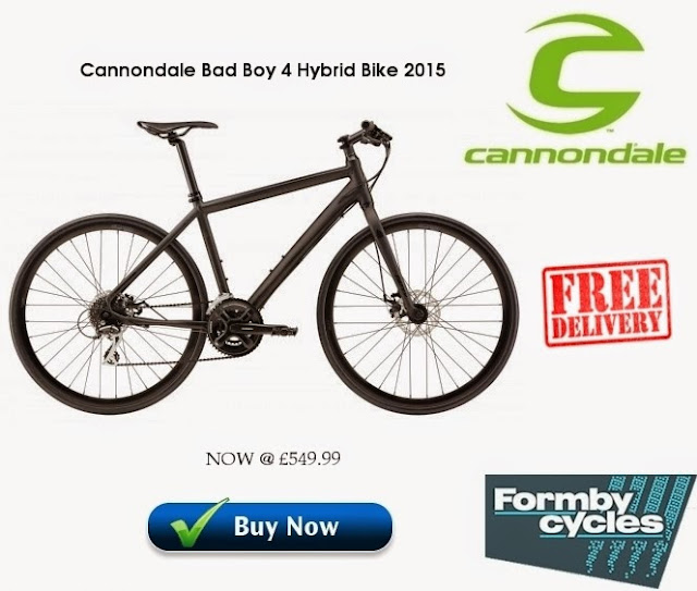2015 Hybrid Bike: Cannondale Bad Boy 4