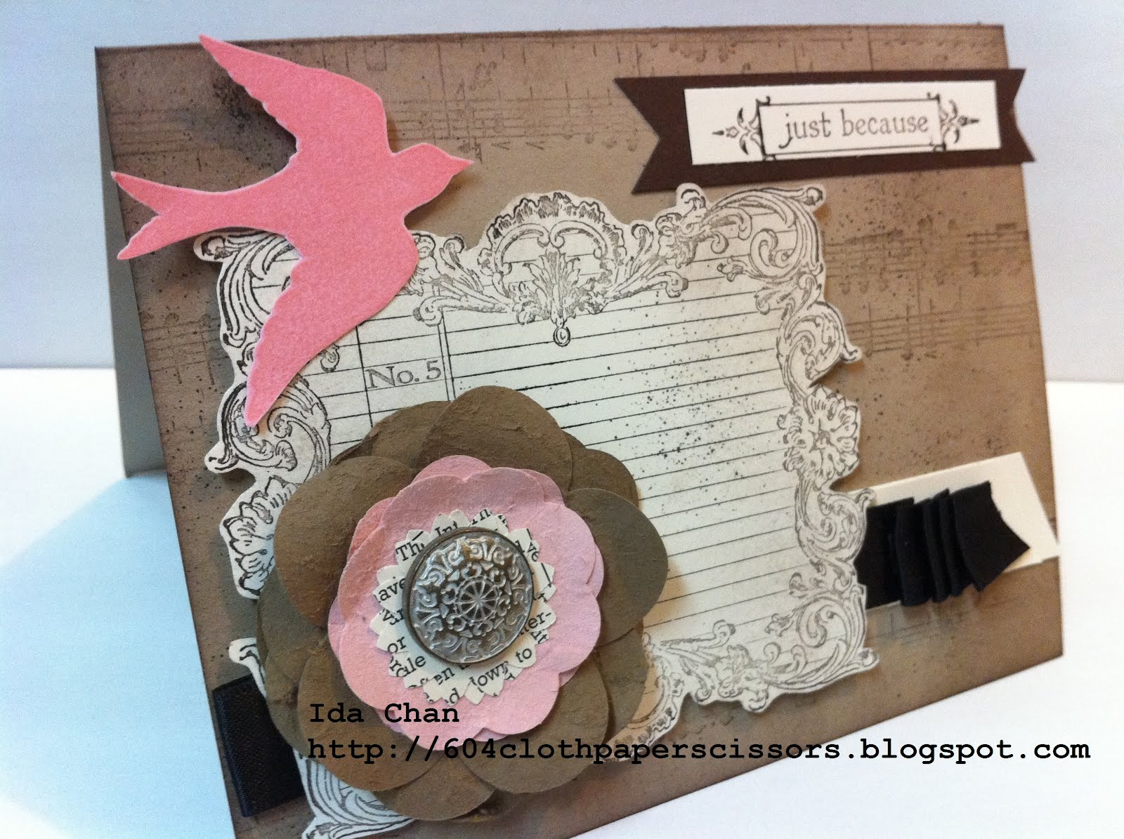 Iron Stampers WOW card by Ida Chan, Stampin' Up! Vancouver