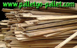 gỗ pallet nhẹ và rất dễ xếp