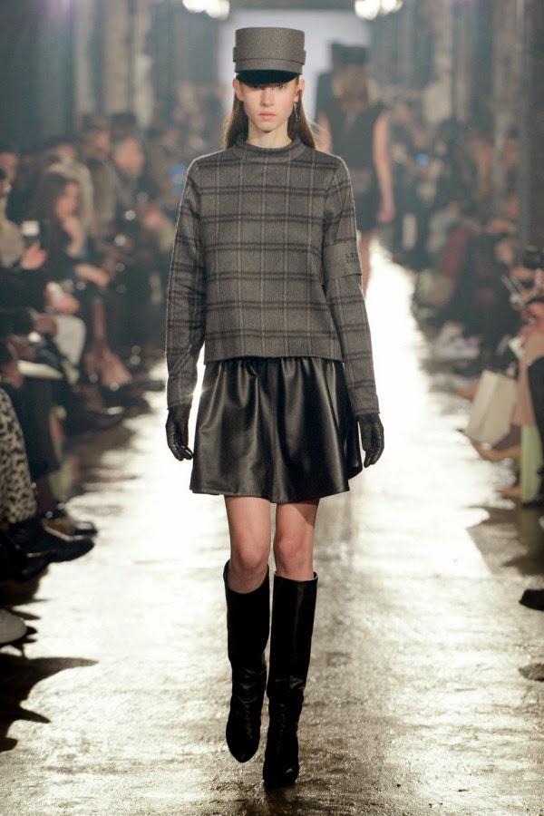 Plaid and Tartan Sweaters 2014 2015 For Women bilgilerburada 2015 Deri Etek Modelleri,mini deri etek kombinler,2015 deri modası bayan