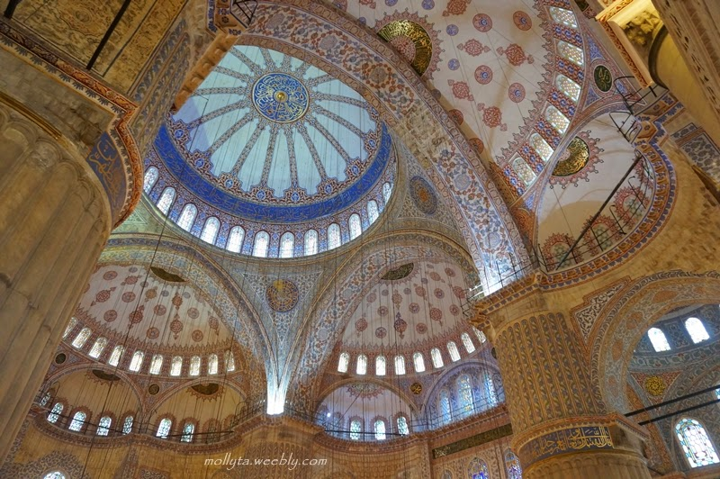 Interior Blue Mosque