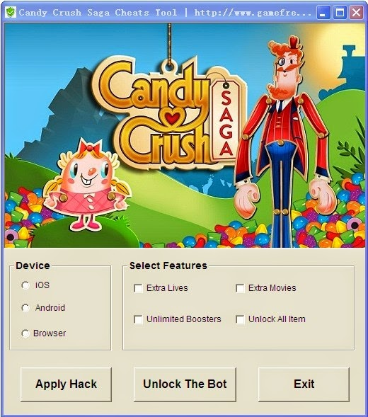 Candy crush saga cheats app ios download