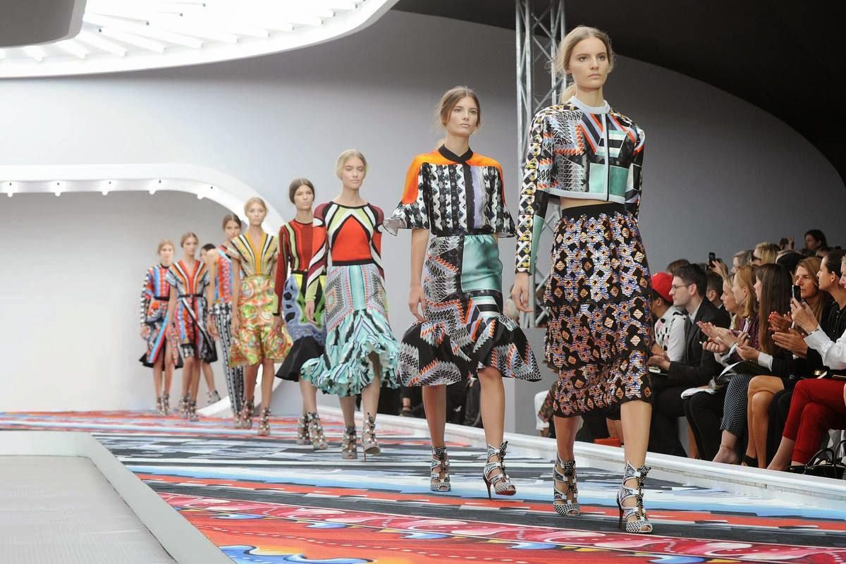 Peter Pilotto Spring 2013 Collection on thewellset.com <3
