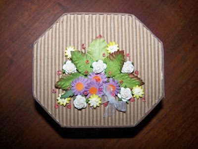 Floral gift box of chocolates 1