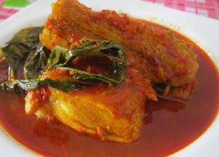 Resep Masakan Asam Padeh Ikan Tengiri Asam Pedas