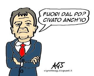 Fassina PD satira vignetta