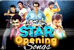 Stars Opening Songs | Rajinikanth | Kamal Haasan | Vijay | Ajith | Suriya | Vikram