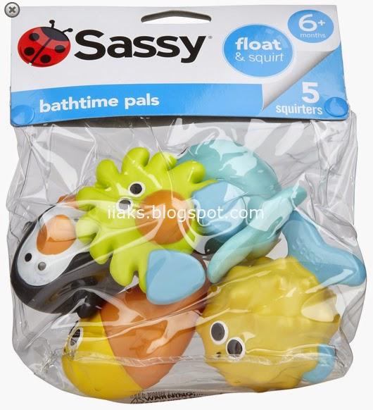 игрушки для малышей в ванну