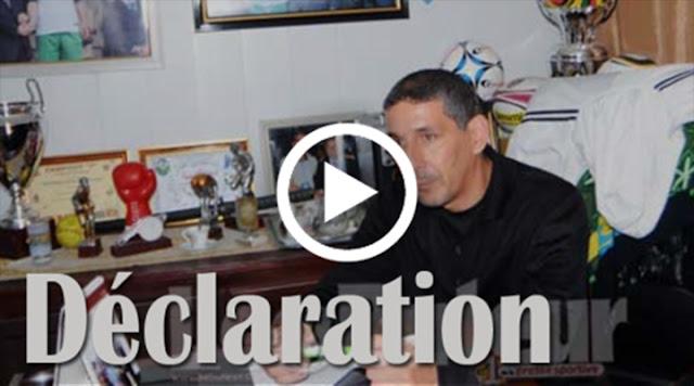 VIDÉO. Déclaration de Izri ex joueur de la JSK