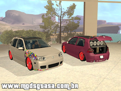 Vw Golf R32 Unique Style para GTA San Andreas