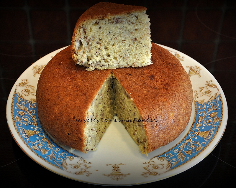 Steamed Banana Cake Without Rice Cooker