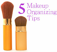 Makeup organizing tips