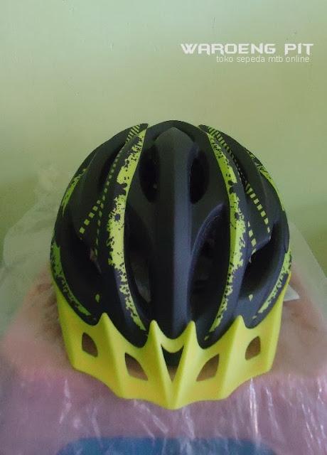 Jual Helmet Wim Cycle Kuning sepeda balap murah 2