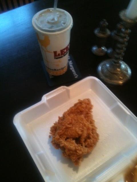 Today's Chicken Porn. Lee's Fried Chicken, Richmond VA