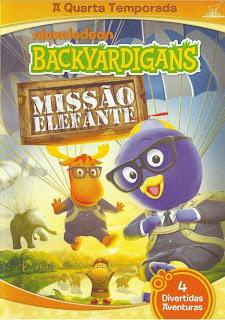 Filme Poster Backyardigans Missão Elefante DVDRip XviD & RMVB Dublado