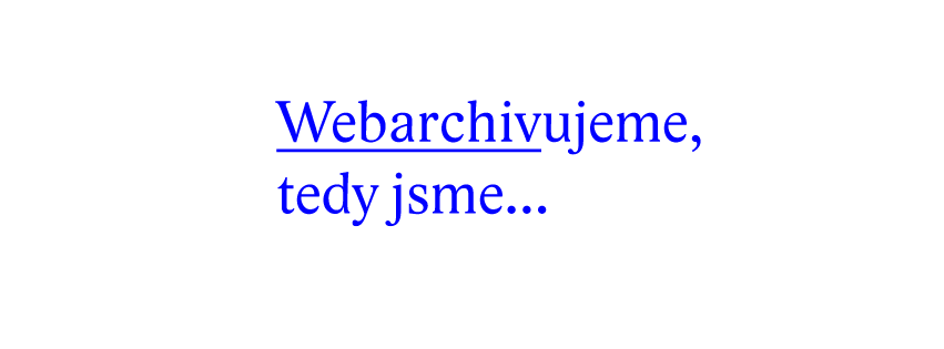 Webarchiv