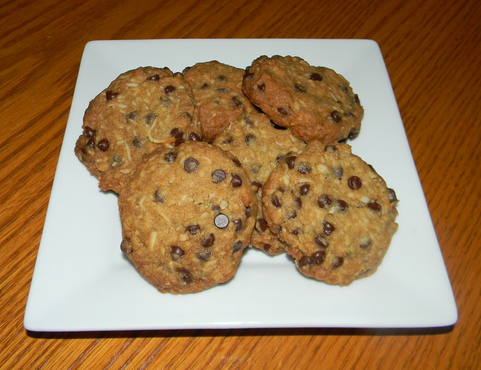 LOVING THE SWEET LIFE: Coconut & Chocolate Chip Cookies